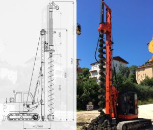 Piling Machine Diagram - On Point Piling