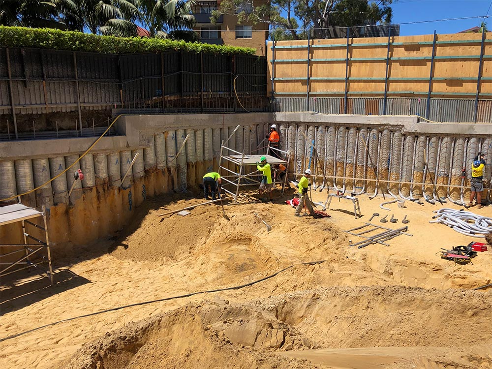 Contiguous Piling, Rose Bay by On Point Piling, Sydney